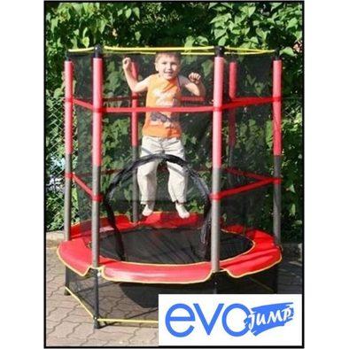 Мини-батут с сеткой EVO Jump 4,5ft (140 см) + нижняя сеть
