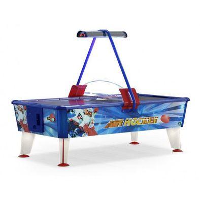 Игровой стол Аэрохоккей Wik Ice & Fire 8ft с купюроприемником Фото