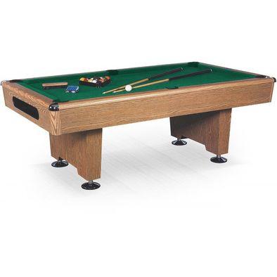 Бильярдный стол для пула Eliminator 8 ф (дуб) в комплекте аксессуары и сукно Фото
