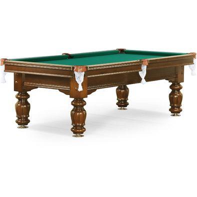 Бильярдный стол для русского бильярда Classic II 9 ф (орех) Фото