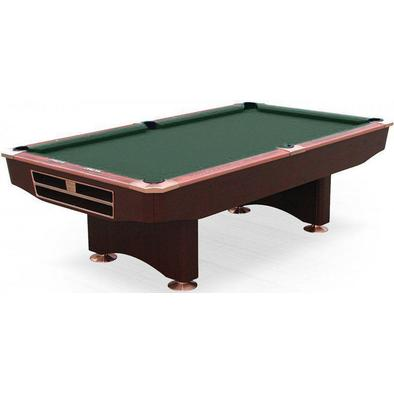 Бильярдный стол для пула Competition 9 ф (махагон) в комплекте аксессуары и сукно