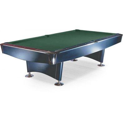 Бильярдный стол для пула Reno 9 ф (черный)