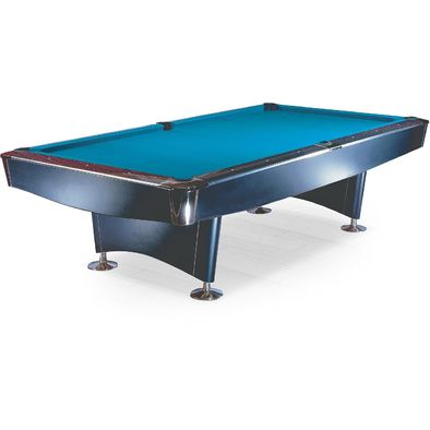 Бильярдный стол для пула Reno 8 ф (черный)
