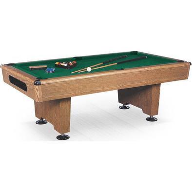 Бильярдный стол для пула Eliminator 7 ф (дуб) в комплекте аксессуары и сукно Фото