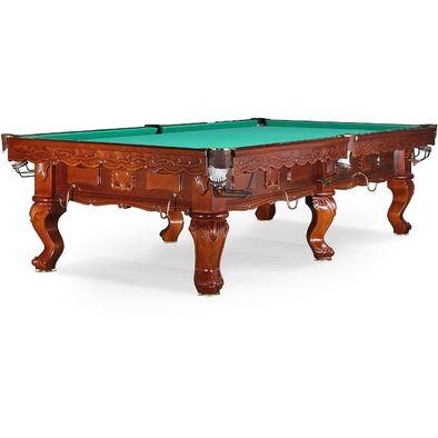 Бильярдный стол для русского бильярда Gogard 10 ф (орех пекан)