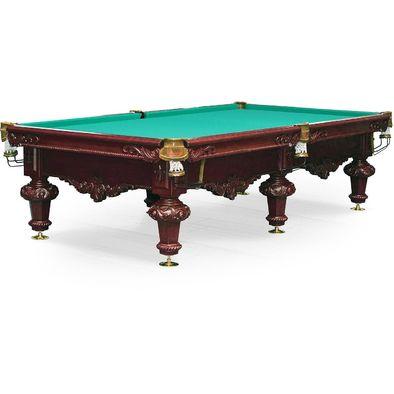 Бильярдный стол для русского бильярда Rococo 10 ф (махагон) Фото