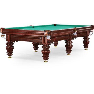 Бильярдный стол для русского бильярда Turin 10 ф (вишня) Фото