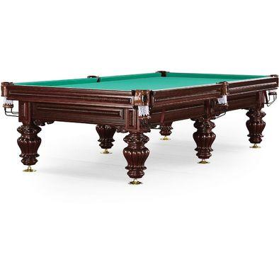 Бильярдный стол для русского бильярда Turin 10 ф (махагон) Фото