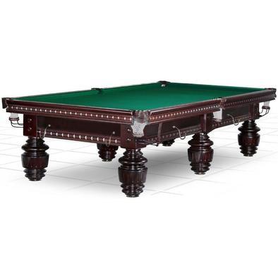 Бильярдный стол для русского бильярда Turnus II 10 ф (махагон) Фото