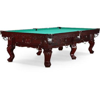 Бильярдный стол для русского бильярда Gogard 10 ф (махагон)