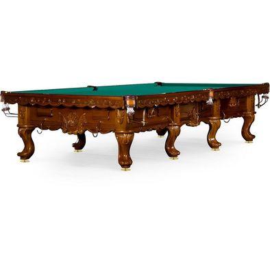Бильярдный стол для русского бильярда Gogard 12 ф (орех пекан) Фото