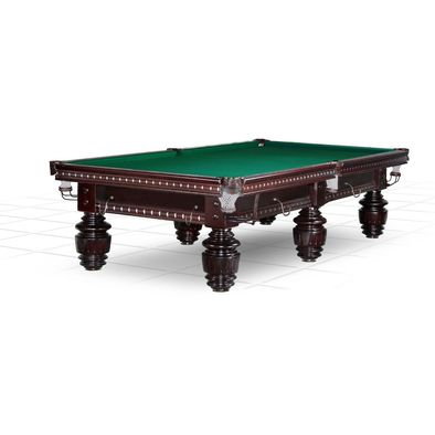 Бильярдный стол для снукера Dynamic Turnus II 10 ф (махагон) Фото