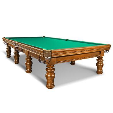 Бильярдный стол для русского бильярда Фаворит-2 12 футов (орех) Фото