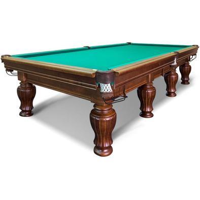 Бильярдный стол для русского бильярда Ренессанс 12 футов (черный орех) Фото