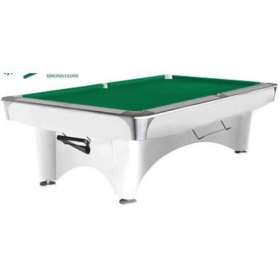 Бильярдный стол для пула Dynamic III 9 ф (белый)