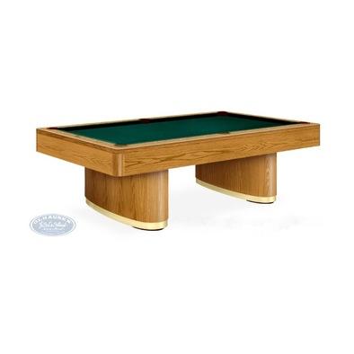 Бильярдный стол для пула SAHARA 8 ф (дуб) Фото