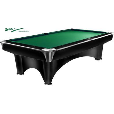 Бильярдный стол для пула Dynamic III 8 ф (черный с отливом)