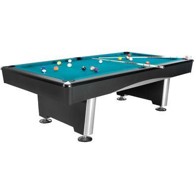Бильярдный стол для пула Dynamic Triumph 7 ф (черный) в комплекте аксессуары и сукно