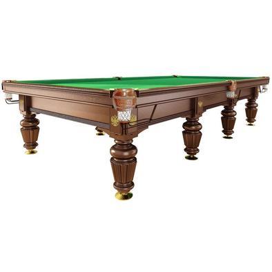 Бильярдный стол для русского бильярда Dynamic Noble 12 ф (орех) Фото