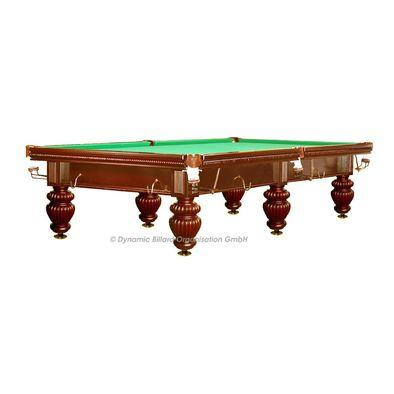 Бильярдный стол для русского бильярда Dynamic Tower 10 ф (коричневый) Фото