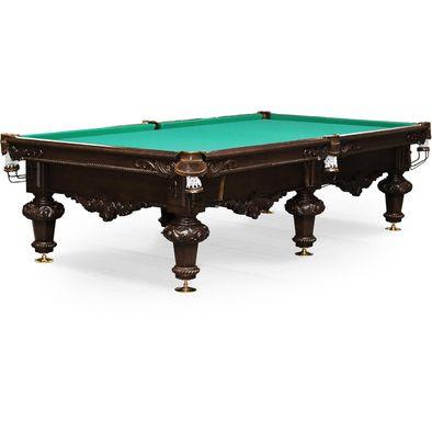 Бильярдный стол для русского бильярда Rococo 10 ф (черный орех)