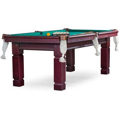 Бильярдный стол для русского бильярда Техас 8 ф (махагон) ЛДСП Фото