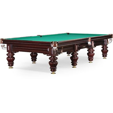 Бильярдный стол для русского бильярда Turin 12 ф (вишня) Фото