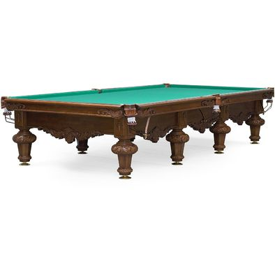 Бильярдный стол для русского бильярда Rococo 12 ф (орех) Фото