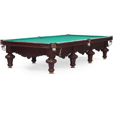 Бильярдный стол для русского бильярда Rococo 12 ф (махагон)