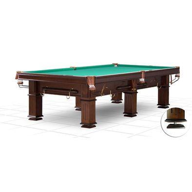 Бильярдный стол для русского бильярда Provincial 9 ф (6 ног, плита 25 мм)