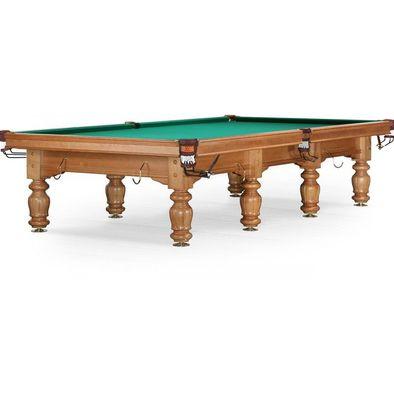 Бильярдный стол для русского бильярда Classic II 12 ф (ясень) Фото