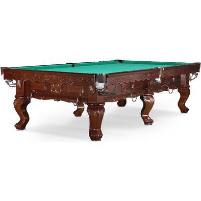 Бильярдный стол для русского бильярда Gogard 10 ф (черный орех) Фото
