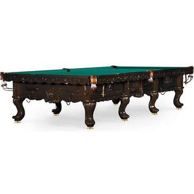 Бильярдный стол для снукера Gogard 12 ф (черный орех) Фото