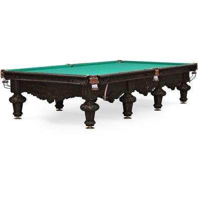 Бильярдный стол для снукера Rococo 12 ф (черный орех) Фото