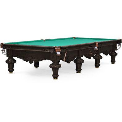 Бильярдный стол для снукера Rococo 12 ф (черный орех)