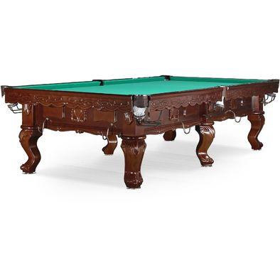 Бильярдный стол для снукера Gogard 10 ф (черный орех) Фото