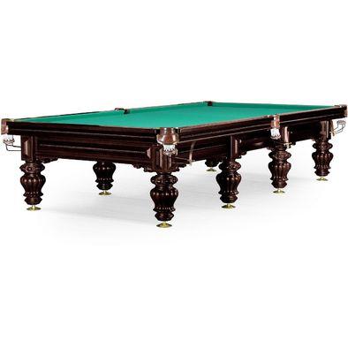 Бильярдный стол для русского бильярда Turin 11 ф (черный орех)