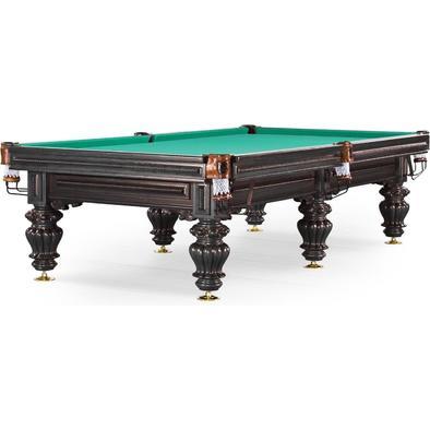 Бильярдный стол для русского бильярда Turin 10 ф (черный орех)