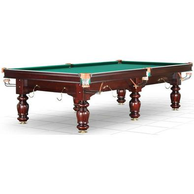 Бильярдный стол для русского бильярда Classic II 9 ф (махагон, 6 ног, плита 25 мм)