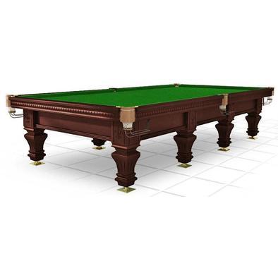 Бильярдный стол для русского бильярда Hardy 12 ф (черный орех)