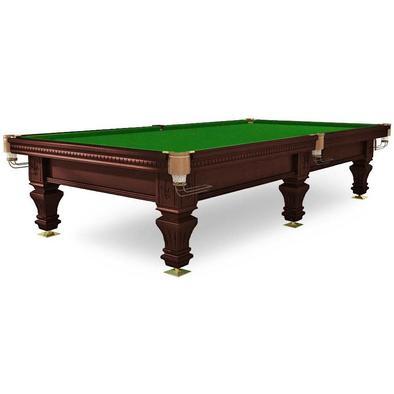 Бильярдный стол для русского бильярда Hardy 10 ф (черный орех) Фото