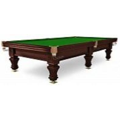 Бильярдный стол для русского бильярда Hardy 9 ф (черный орех, 6 ног, плита 38 мм)