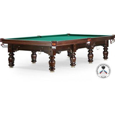 Бильярдный стол для русского бильярда Classic II 12 ф (черный орех)