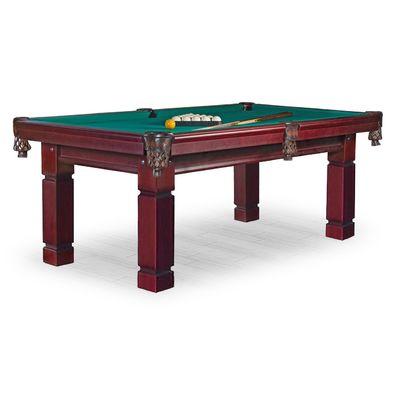 Бильярдный стол для пула Texas 8 ф (махагон) ЛДСП