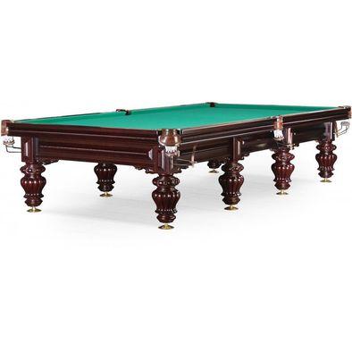 Бильярдный стол для снукера Turin 12 ф (вишня) Фото
