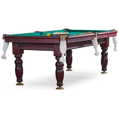 Бильярдный стол для русского бильярда Дебют 7 ф (махагон) ЛДСП