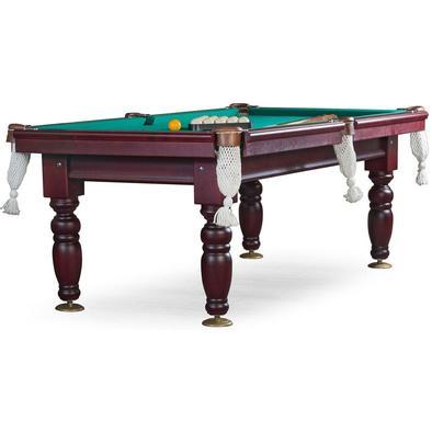 Бильярдный стол для русского бильярда Дебют 8 ф (махагон) ЛДСП