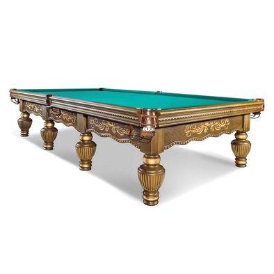 Бильярдный стол для русского бильярда Империал 12 футов (орех) Фото