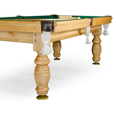 Бильярдный стол для русского бильярда Дебют 8 ф (светлый) ЛДСП Фото