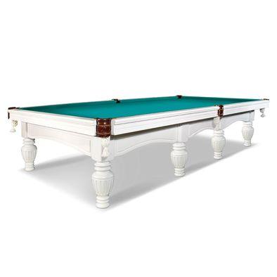 Бильярдный стол для русского бильярда Консул 12 футов (белый)